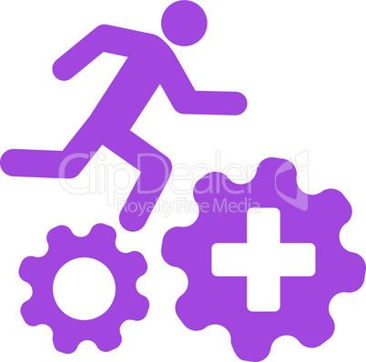 Violet--treatment process.eps