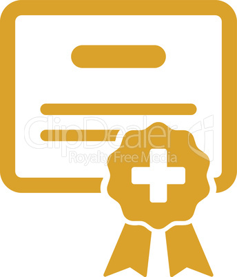 Yellow--medical certification.eps