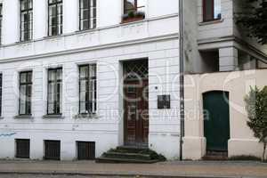 Geburtshaus von Heinrich Friese in Schwerin
