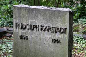 Grab von Rudolph Karstadt in Schwerin