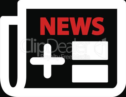 bg-Black Bicolor Red-White--newspaper.eps