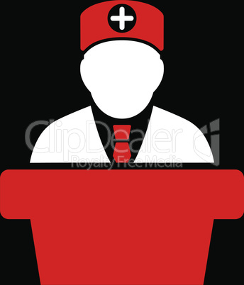 bg-Black Bicolor Red-White--Medical official lecture.eps