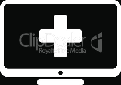 bg-Black White--medical monitor.eps