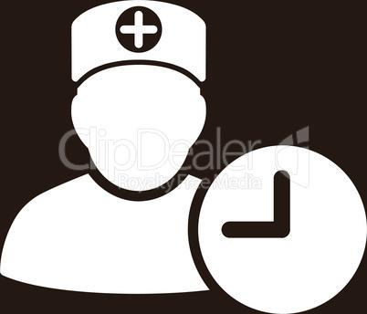 bg-Brown White--doctor schedule.eps