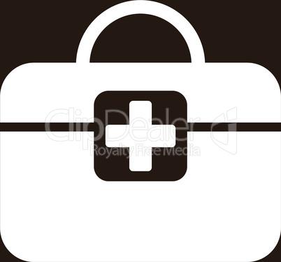 bg-Brown White--medical kit.eps