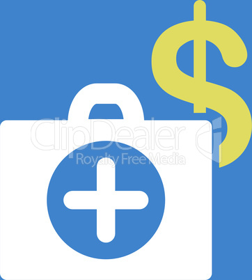 bg-Blue Bicolor Yellow-White--payment healthcare.eps
