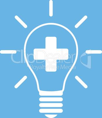 bg-Blue White--creative medicine bulb.eps
