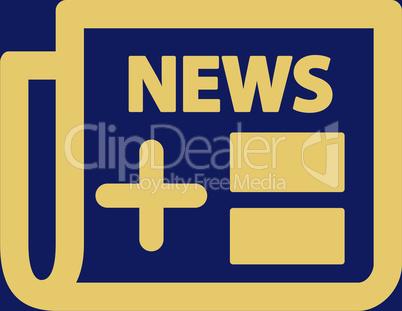 bg-Blue Yellow--newspaper.eps