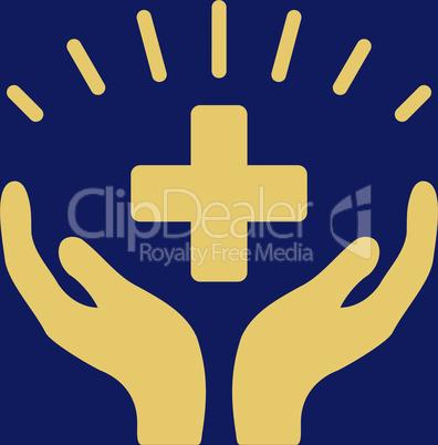 bg-Blue Yellow--medical prosperity.eps