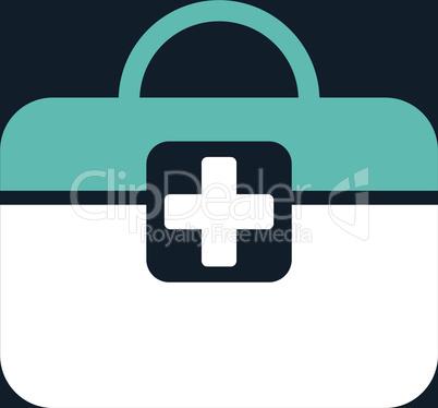 bg-Dark_Blue Bicolor Blue-White--medical kit.eps