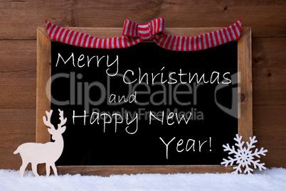 Card, Snowflake, Loop, Merry Christmas, Happy New Year, Snow