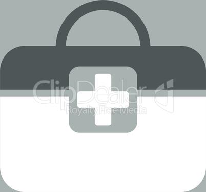 bg-Silver Bicolor Dark_Gray-White--medical kit.eps