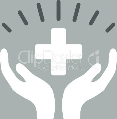 bg-Silver Bicolor Dark_Gray-White--medical prosperity.eps