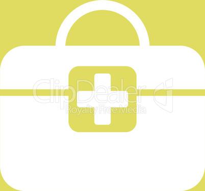bg-Yellow White--medical kit.eps