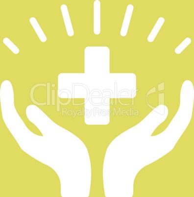 bg-Yellow White--medical prosperity.eps