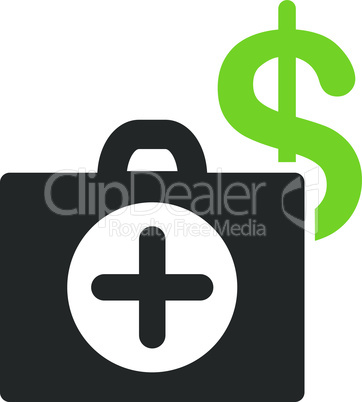 Bicolor Eco_Green-Gray--payment healthcare.eps