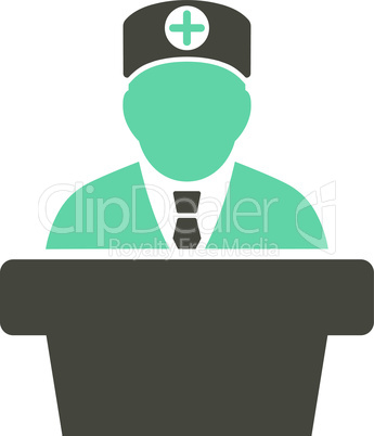 Bicolor Grey-Cyan--Medical official lecture.eps