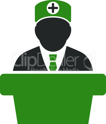 Bicolor Green-Gray--Medical official lecture.eps