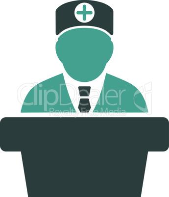 Bicolor Soft Blue--Medical official lecture.eps