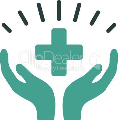 Bicolor Soft Blue--medical prosperity.eps