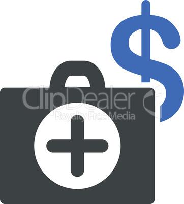 BiColor Cobalt-Gray--payment healthcare.eps