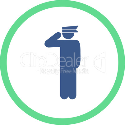 BiColor Cobalt-Cyan--police officer.eps