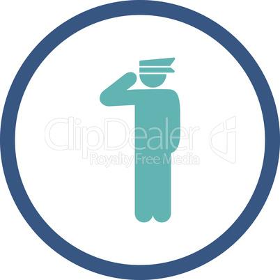 BiColor Cyan-Blue--police officer.eps