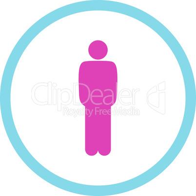 BiColor Pink-Blue--standing.eps