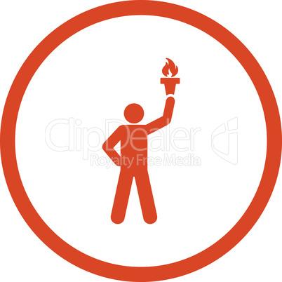 Orange--freedom torch.eps