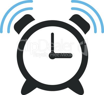 Bicolor Blue-Gray--alarm clock ring.eps