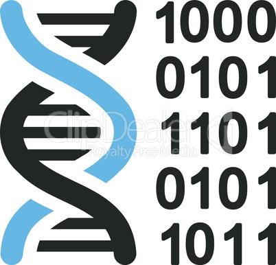 Bicolor Blue-Gray--genetical code.eps