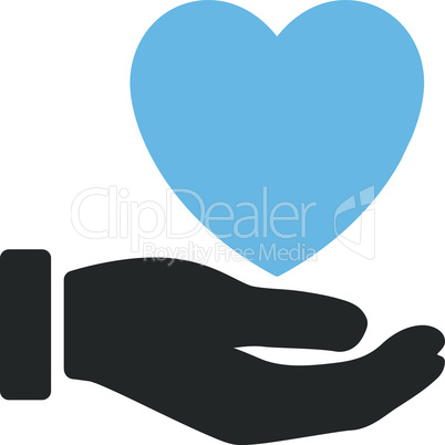 Bicolor Blue-Gray--heart charity.eps