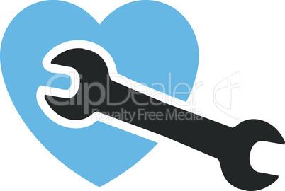 Bicolor Blue-Gray--Heart surgery.eps