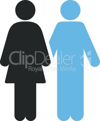 Bicolor Blue-Gray--human couple.eps