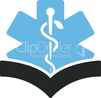 Bicolor Blue-Gray--medical knowledge.eps