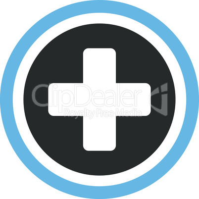 Bicolor Blue-Gray--rounded cross.eps