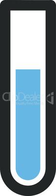 Bicolor Blue-Gray--test tube.eps