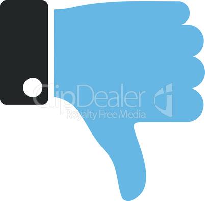 Bicolor Blue-Gray--thumb down.eps