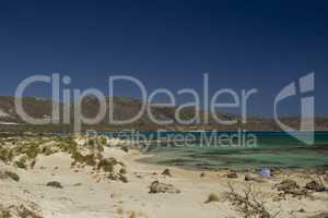 Elafonisi beach, Crete Island, Greece