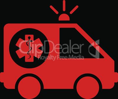 bg-Black Red--ambulance car.eps