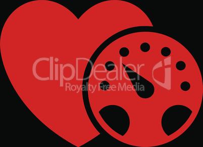 bg-Black Red--blood pressure meter.eps