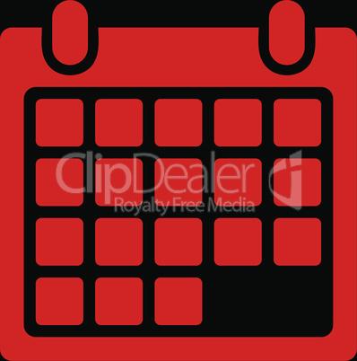 bg-Black Red--calendar appointment.eps