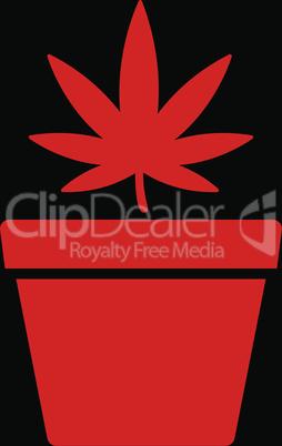 bg-Black Red--cannabis pot.eps