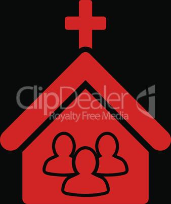 bg-Black Red--church.eps