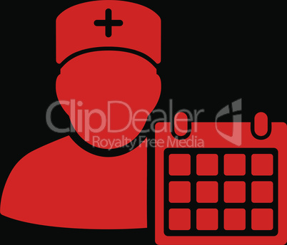 bg-Black Red--doctor appointment.eps