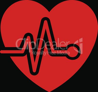 bg-Black Red--heart pulse.eps