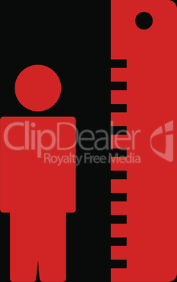 bg-Black Red--height meter.eps