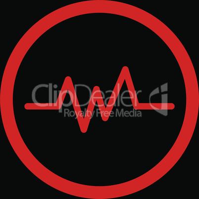 bg-Black Red--pulse monitoring.eps