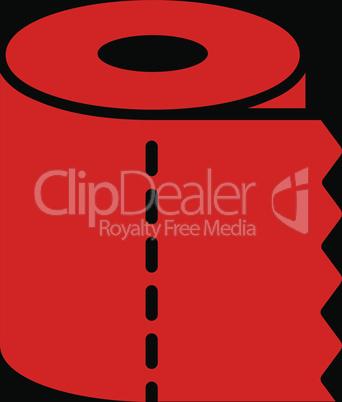 bg-Black Red--toilet paper roll.eps