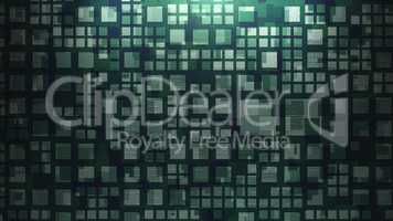 Metal wall background green